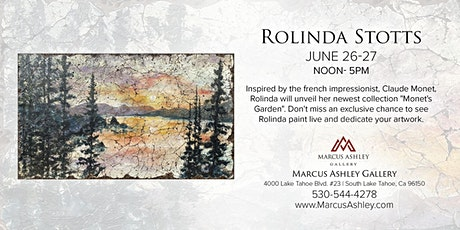 Rolinda Stotts ~Meet the Artist~ June 26 & 27 12-5pm tickets