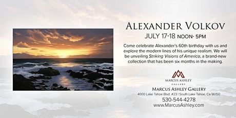 Alexander Volkov ~Meet the Artist~ July 17th and 18th, 12-5pm tickets