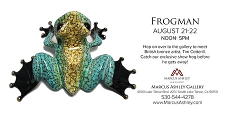 Frogman ~Meet the Artist~ August 21 & 22, 12-5pm tickets