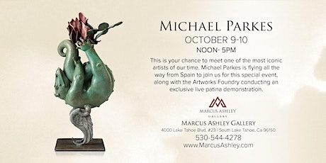 Michael Parkes ~Meet the Artist~October 9th & 10th, 12-5pm tickets