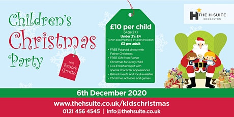 Children's Christmas Party 2020  tickets