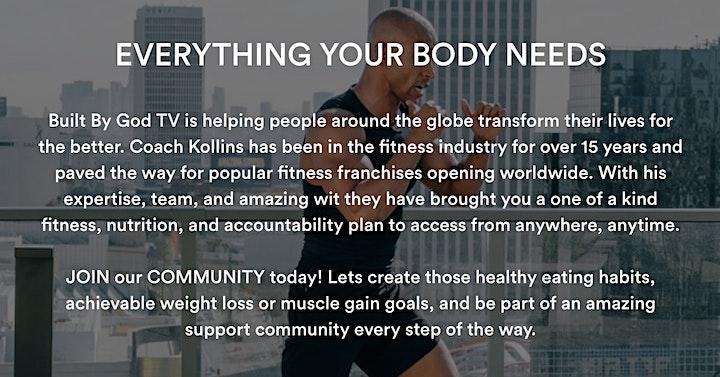 BuiltbyGodTV LIVE Fitness Workout (ON ZOOM)