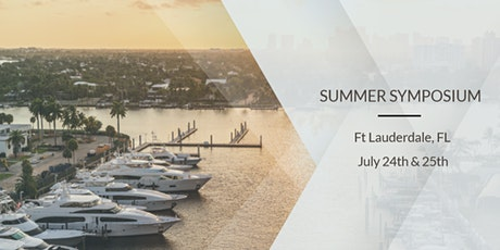 Summer Symposium - Ft Lauderdale, Florida - Weekend tickets