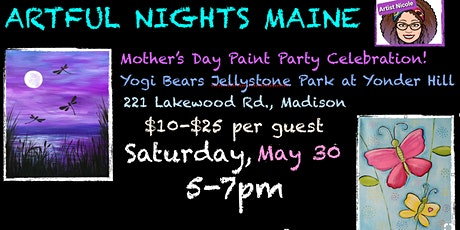 Mother's Day Paint Party at Yogi Bears Jellystone Park at Yonderhill tickets