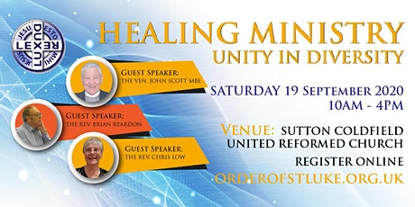 HEALING MINISTRY: Unity in Diversity tickets