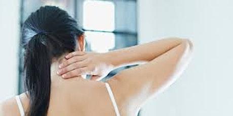 Fri 12pm Yoga for Tense Shoulders with Alena Minova tickets