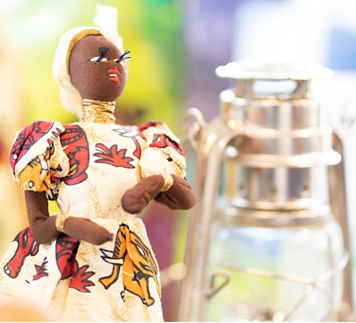 Image de Atelier Enfants EN LIGNE |ONLINE Kids Workshop |Identité Afro Identity