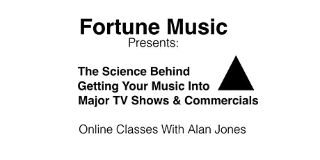 The Science Behind Getting Your Music Into TV Shows & Commercials tickets