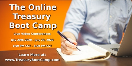 The Online Treasury Boot Camp - July 2020 tickets