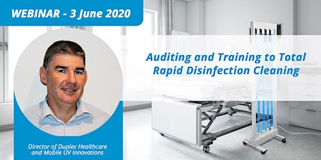 Auditing and Training to Total Rapid Disinfection Cleaning tickets