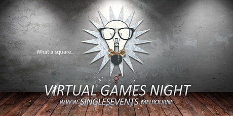 Virtual Games Night | Age 34-49 | June tickets