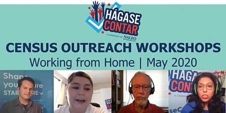 May 2020 Census Outreach Workshops: Working from Home tickets