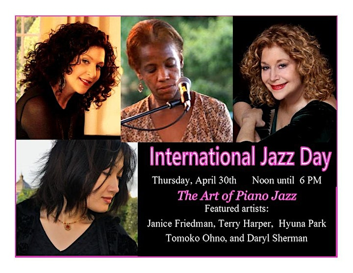 A Virtual Day of Jazz for International Jazz Day 2020 image