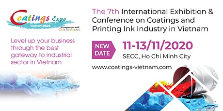 Coatings Expo Vietnam 2020 tickets