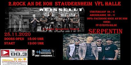 Rammstein vs. Onkelz: Weissglut & Serpentin in Staudernheim  Vfl Halle Tickets
