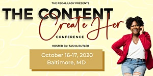 Content CreateHer Conference