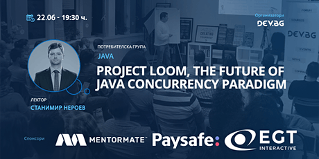 Webinar: Project Loom, the future of java concurrency paradigm tickets