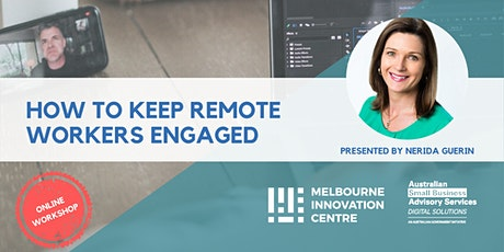 BRP: How to Keep Employees Engaged While They're Working Remotely tickets