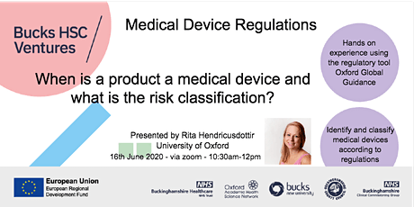 Medical device regulations - products as medical devices tickets