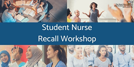Student Nurse Recall Workshop 3 tickets