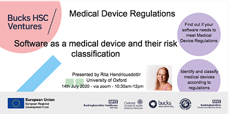 Medical device regulations - Software as a medical device tickets