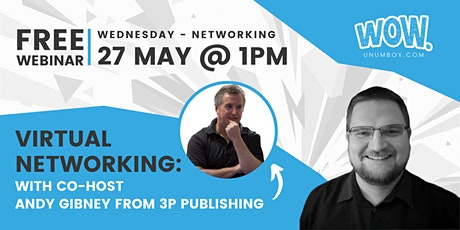 WOW Networking Meeting: With Andy Gibney tickets