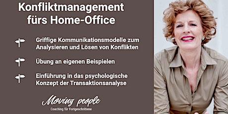 Coaching fürs enge Home-Office: Konflikte lösen und klar kommunizieren  Tickets