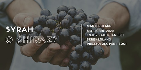 Syrah o Shiraz? | Masterclass Degustibuss International tickets