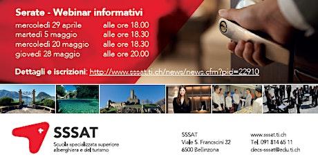WEBINAR - Presentazione delle attività della SSAT biglietti