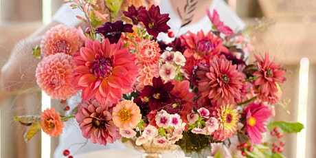 Late Summer Days Flower Arranging with Antonio Valente - August 30th, 10:00 am tickets