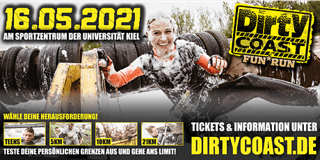 Dirty Coast™ FUN RUN 2021 - Kiel Tickets