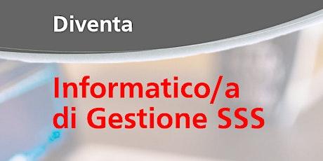 WEBINAR Diventa informatico/a di gestione SSS biglietti