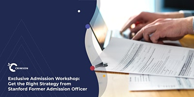 Stanford FAO Admission Workshop: Get the Right Str