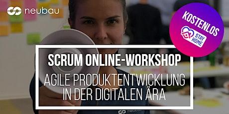 Scrum Online-Workshop - Agile Produktentwicklung in der digitalen Ära Tickets