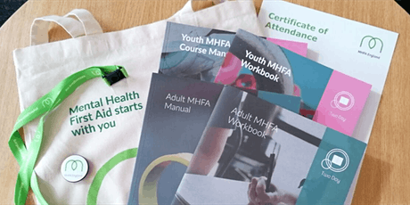 Youth Mental Health First Aider Course (2 Day) tickets
