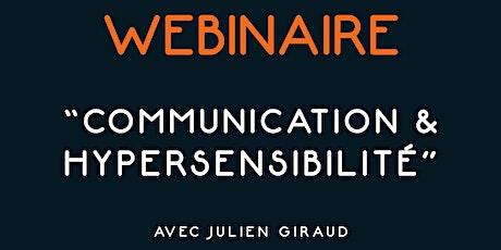 Webinaire - Communication & Hypersensiblité billets