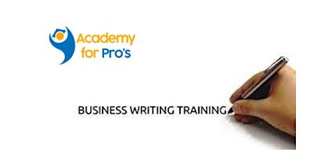 Business Writing 1 Day Virtual Live Training in Atlanta, GA tickets