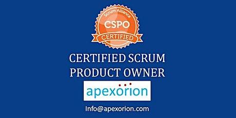 CSPO ONLINE (Certified Scrum Product Owner) - August 8-9, Alpharetta, GA tickets