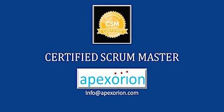 CSM ONLINE(Certified Scrum Master) - August 15-16, Santa Clara, CA tickets