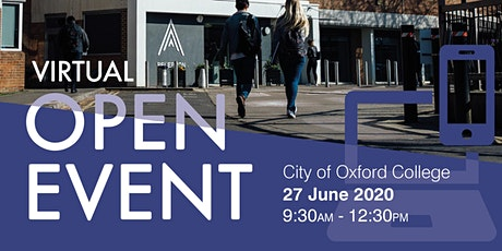 City of Oxford College Virtual Open Event tickets