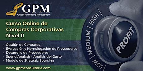 Curso Online de Compras Corporativas - Nivel II entradas