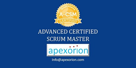 A-CSM ONLINE (Advanced CSM) - September 19-20, Plano, TX tickets