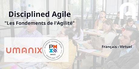 VIRTUEL - Les fondements de l'agilité - Disciplined Agile  - FRANÇAIS billets
