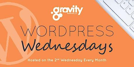 WordPress Wednesday - June  10, 2020 tickets