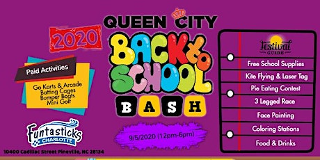 2020 Queen City Back To School Festival tickets