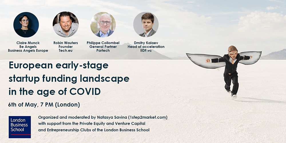 Organiser of European early-stage startup funding landscape in the age of COVID