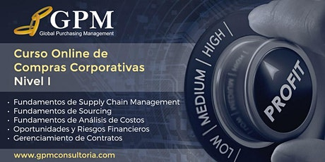 Curso Online de Compras Corporativas - Nivel I entradas
