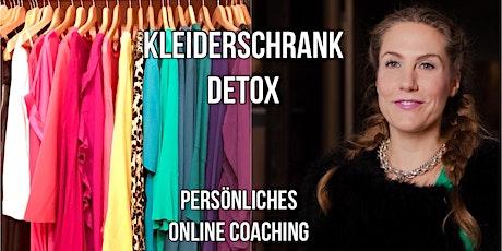 In 3 Tagen zum leichten Kleiderschrank! - 1:1 Coaching Tickets