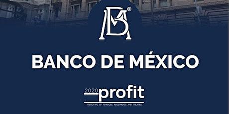 Banco de México PROFIT 2020 boletos