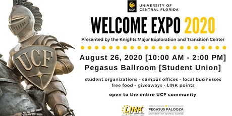 2020  UCF Welcome Expo tickets